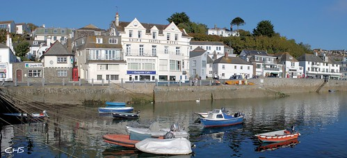 St.Mawes harbour, Percuil River by Stocker Images