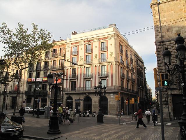 Las ramblas hotel bagues barcelona 5 derby hotels for Las ramblas hotel barcelona