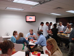"Weekly ""Family Lunch"" in the Garage Cafe"