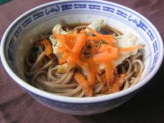 produce(0.0), yakisoba(0.0), chinese noodles(0.0), chow mein(0.0), soba(0.0), noodle(1.0), noodle soup(1.0), japanese cuisine(1.0), food(1.0), dish(1.0), laksa(1.0), yaki udon(1.0), soup(1.0), cuisine(1.0), udon(1.0),