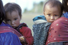 Children being carried. Bhutan | by World Bank Photo Collection
