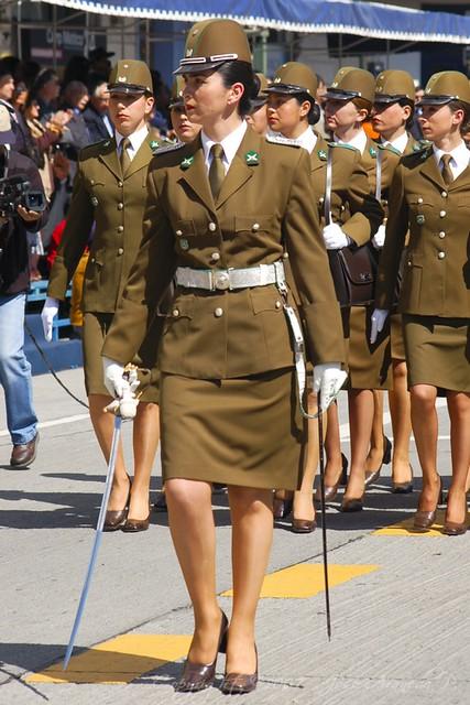 Carabineras de Chile...Belleza y orden