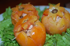 vegetable, fruit, food, dish, cuisine, persimmon,