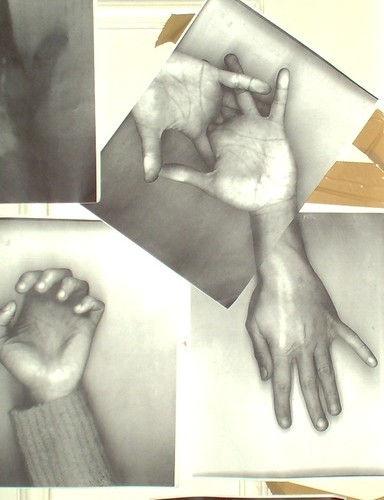 "Detail from ""Hands"""