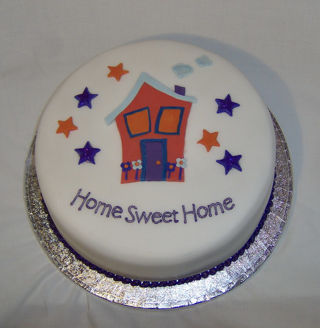 Cake Designs For Housewarming : House Warming Cake Flickr - Photo Sharing!