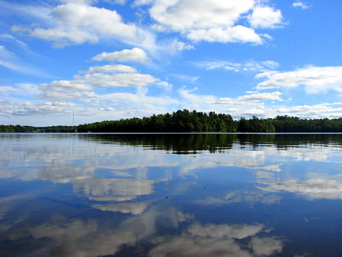 blue trees sky lake canada reflection water clouds landscape mirror novascotia ns sold first lower sackville gettyimages