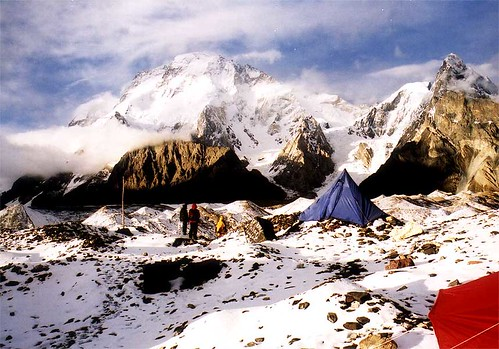 Camping at Concordia, Baltoro, Pakistan
