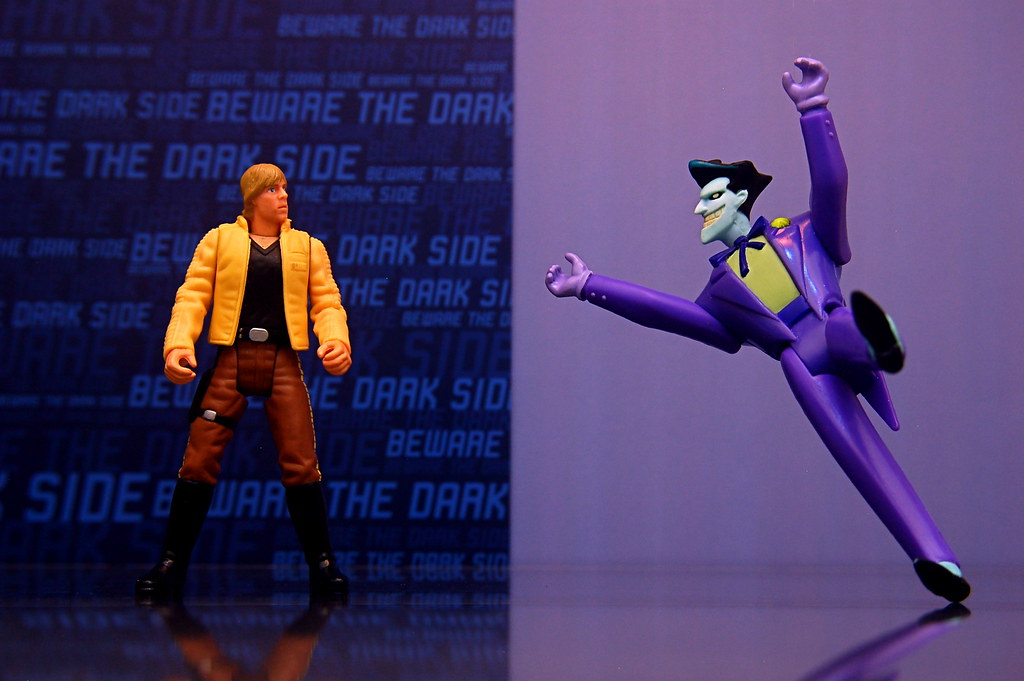 Luke Skywalker vs. Joker (134/365)