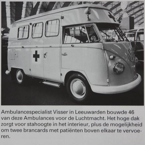 Carrosserie bouwer Visser bouwde 46 Hoogdak Transporters
