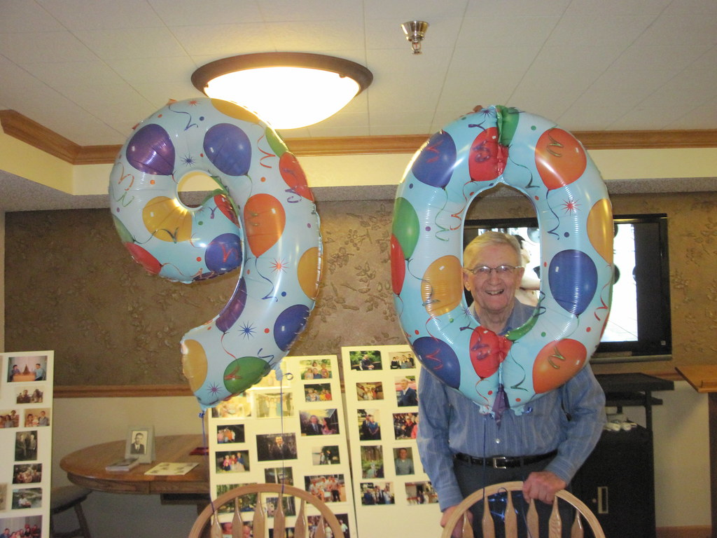 90 Year Balloons
