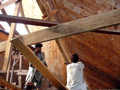 wood, beam, iron, hardwood, carpenter,