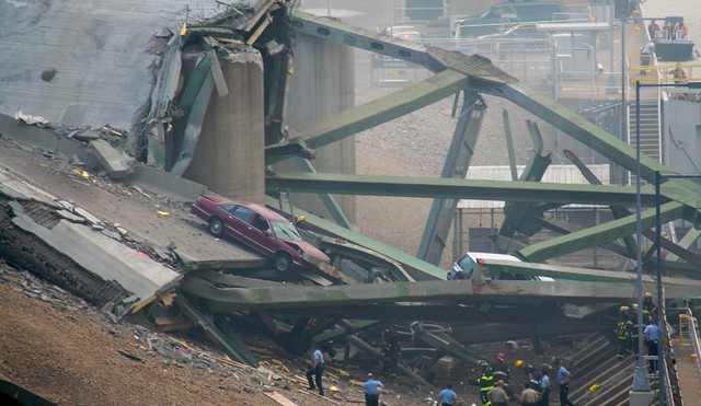 Minneapolis I-35W Bridge Collapse (Trusses)