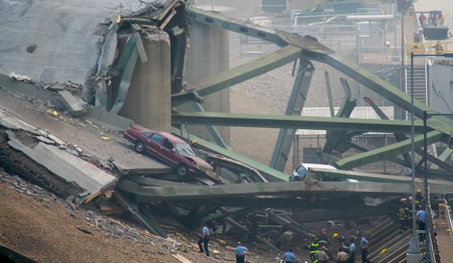 Minneapolis I-35W Bridge Collapse (Trusses)