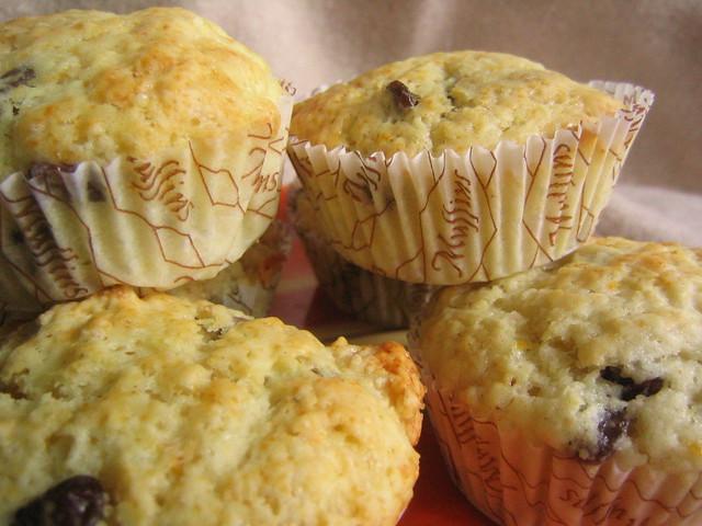 Lemon-Cranberry Muffins | Flickr - Photo Sharing!