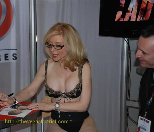 Blonde mature babe Nina Hartley is showing her big tits in stockings № 498258 загрузить
