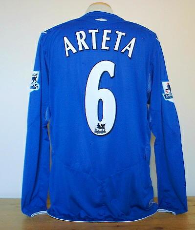 free shipping dd47c 00178 Everton 2005 long sleeve Arteta shirt | Movi Star | Flickr