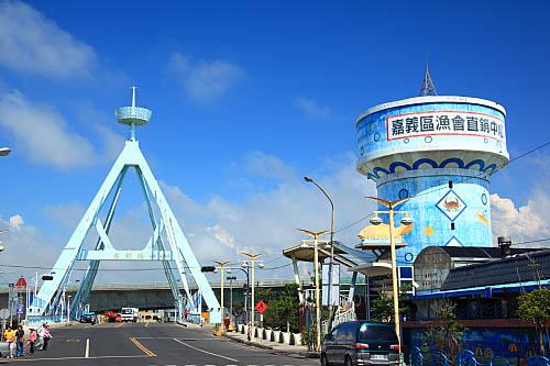 7Q85布袋港觀光魚市-布新橋