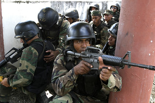Dominican commandos train for special operations