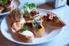 hors d'oeuvre, breakfast, meat, food, dish, pincho, cuisine,