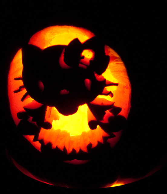 Hello kitty pumpkin explore gone walkabout 39 s photos on for Hello kitty pumpkin carving patterns