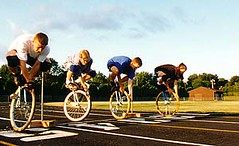 endurance sports(0.0), bicycle motocross(0.0), cycle sport(0.0), road cycling(0.0), wheelchair racing(0.0), sports(1.0), cycling(1.0),