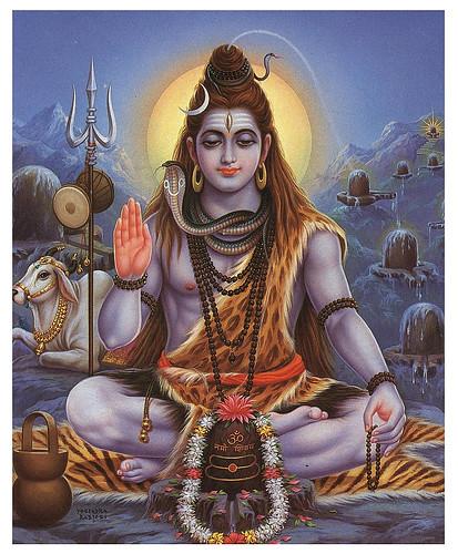 Lord Shiva and Halahala
