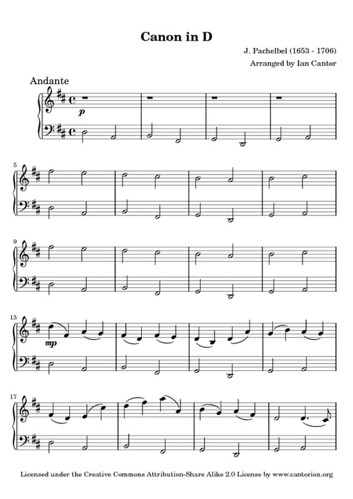Violin canon in d violin chords : Violin : canon violin chords Canon Violin Chords as well as Canon ...