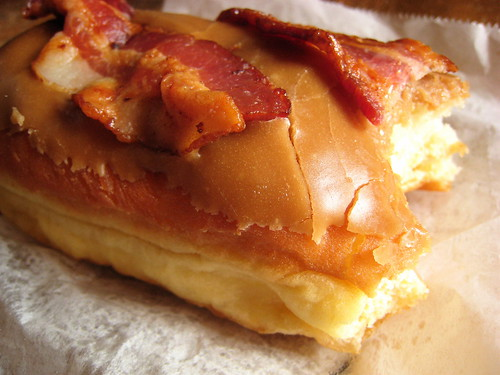 bacon maple doughnut