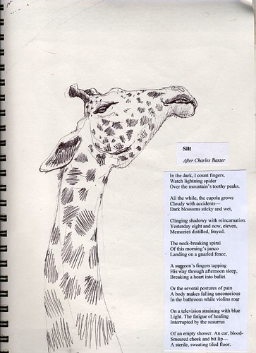 Giraffe Poem http://orangebarrelindustries.wordpress.com/2012/05/