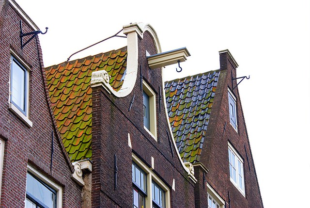 Amsterdam's Roofs and Hooks