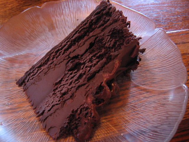 Rich Chocolate Cake From A Mix
