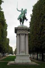 Paris: Cours Albert 1er - La statue de Lafayette