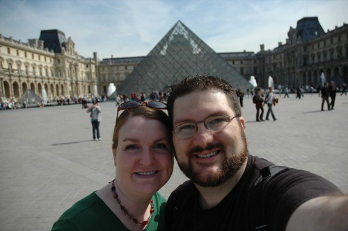 Us at Musee Du Louvre II