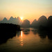 Yangshuo Sunrise by timbeckenham