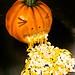 vomiting pumpkin cake! by debbiedoescakes