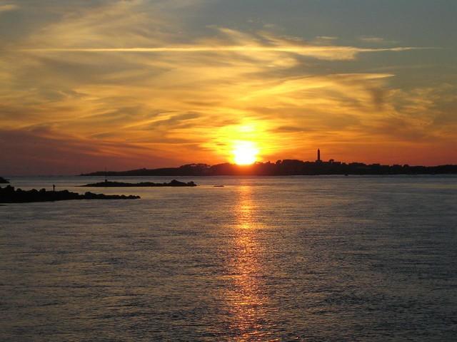 Roscoff - Soirée lumineuse du 29 juillet 2007