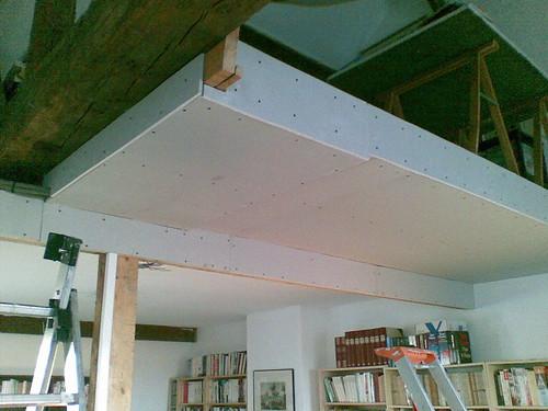 briconellio pose d 39 un faux plafond lionel damm nellio. Black Bedroom Furniture Sets. Home Design Ideas