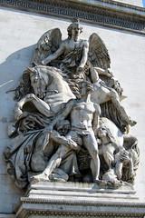 Paris: Arc de Triomphe de l'Étoile - La Résistance de 1814