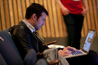 Oliver Reichenstein at TYPO Berlin 2010