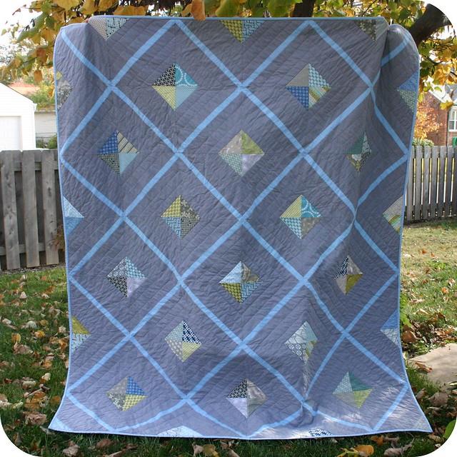Urban Lattice quilt (aka manly quilt) | Flickr - Photo ...