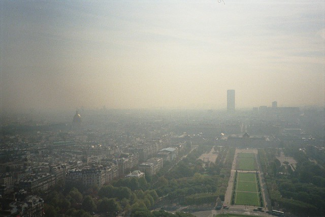 View towards South from Eiffel Tower
