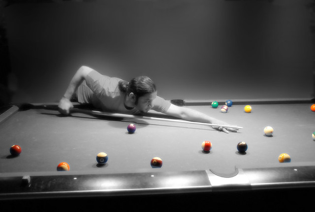 pool player color