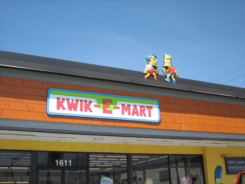 Kwik e mart y la casa de los simpsons real taringa for La casa del retal