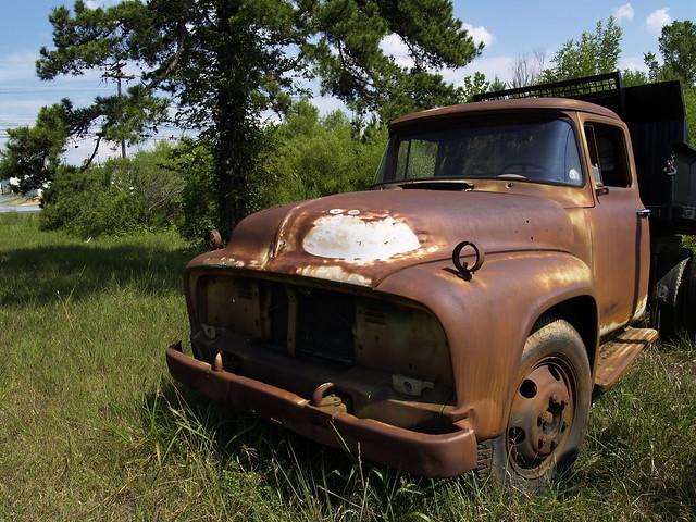 1956 Ford Dump Truck Flickr Photo Sharing