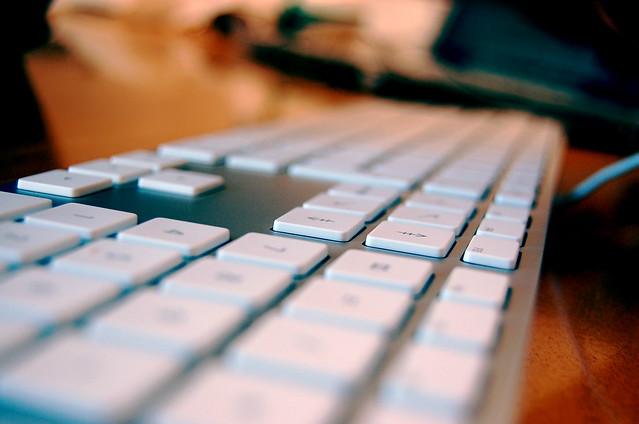 Aluminum Apple Keyboard