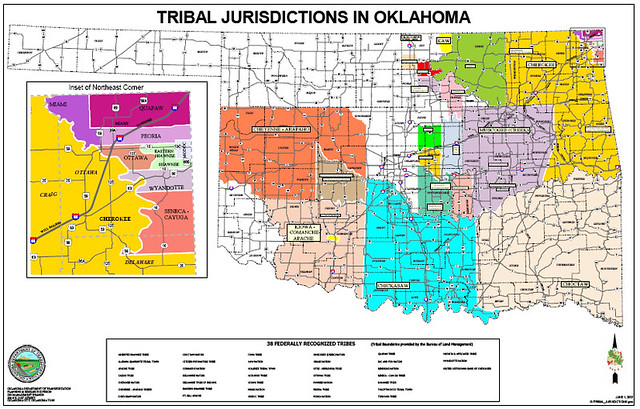 Tribal Jurisdictions In Oklahoma  Flickr  Photo Sharing