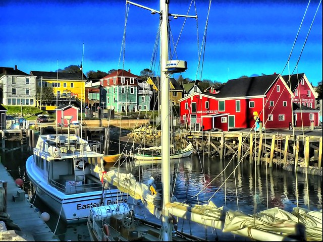 Lunenburg in HDR
