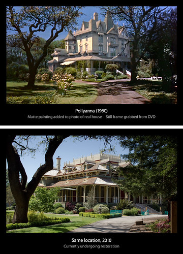 california movie disney sonomacounty santarosa 1960 pollyanna filmlocation mableton hayleymills janewyman mcdonaldmansion proctorterrace