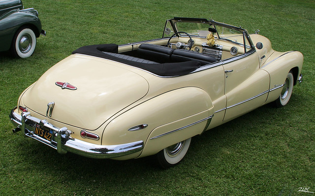 1948 Buick Roadmaster Convertible - yellow - rvr