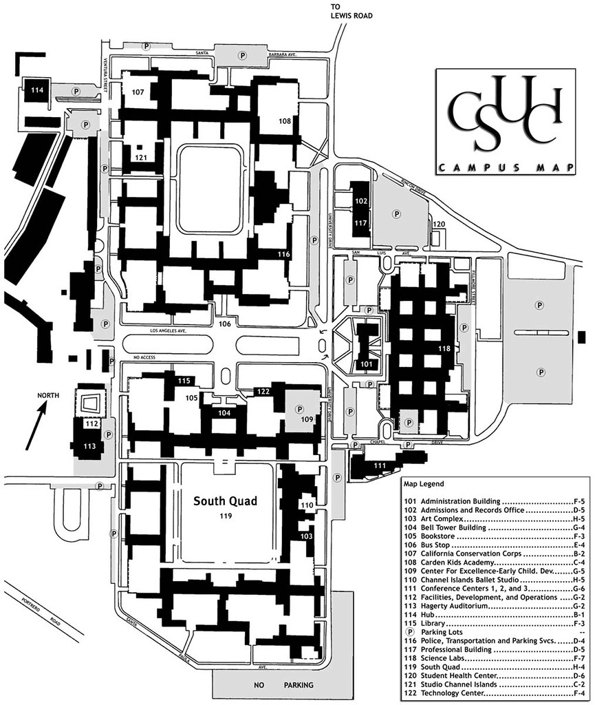 2002 Campus Map | California State University Channel Islands | Flickr